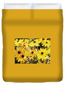 Sun Flower Glory Duvet Cover