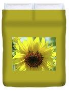 Sun Flower Glow Art Print Summer Sunflowers Baslee Troutman Duvet Cover