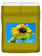Sun Flower - Id 16235-142741-1520 Duvet Cover