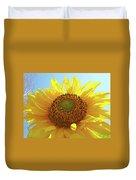 Sun Flowers Art Sunflower Giclee Prints Baslee Troutman  Duvet Cover