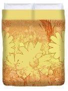 Sun Flowers Duvet Cover