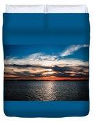 Sun Going Down Duvet Cover