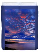 Sun Has Set Duvet Cover