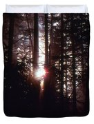 Sun In The Forest  Duvet Cover