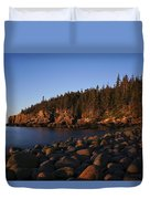 Sun Kissed Acadia Duvet Cover