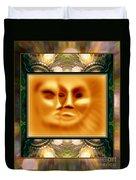 Sun Loves Moon Montage Duvet Cover