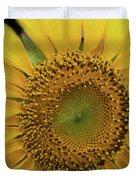 Sun Of Flowers Duvet Cover