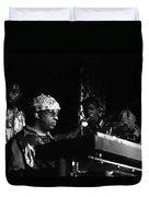 Sun Ra Arkestra At The Red Garter 1970 Nyc 23 Duvet Cover