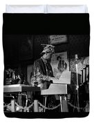 Sun Ra Arkestra At The Red Garter 1970 Nyc 38 Duvet Cover