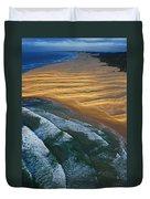 Sun Rise Coast  Duvet Cover
