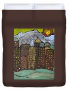 Sun Rising On Olde Towne Duvet Cover