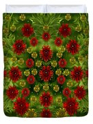 Sun Roses In The Deep Dark Forest With Fantasy And Flair Duvet Cover