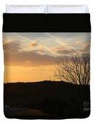 Sun Set Texas Duvet Cover