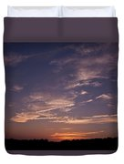 Sun Sets For The Day Duvet Cover