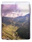 Sun Shining In The Valley Duvet Cover