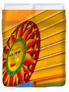 Sun Shopping Duvet Cover
