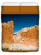 Sun Soaked Ruins Duvet Cover
