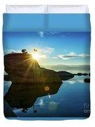 Sun Star Mirror Duvet Cover