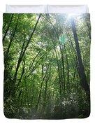 Sun Through The Trees Duvet Cover