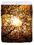 Sun Tree Duvet Cover