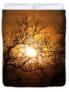 Sun Trees Duvet Cover