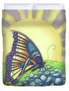 Sun Up Duvet Cover