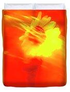 Sun Wind And Sunflower. Duvet Cover