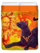 Sun Worshiper Duvet Cover