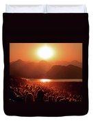 Sun Worshipers Duvet Cover