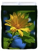Sun Yellow Duvet Cover