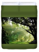 Sunbeams In The Forest Duvet Cover