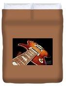 Sunburst Electric Guitar Duvet Cover
