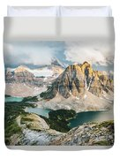 Sunburst Peak Duvet Cover