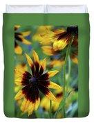 Sunburst Petals Duvet Cover