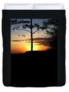 Sunburst Sunset Duvet Cover