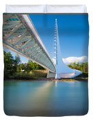 Sundial Bridge 1 Duvet Cover