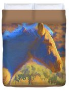 Sunday Morning At The Red Willows Duvet Cover
