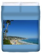 Sunday On Laguna Beach Duvet Cover