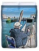 Sunday Painter Duvet Cover