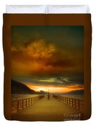 Sunday Storm Clouds Duvet Cover