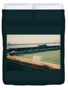 Sunderland - Roker Park - Clock Stand 1 - Leitch - 1970s Duvet Cover