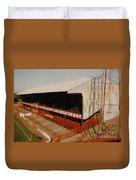 Sunderland - Roker Park - Main Stand 2 - Leitch - 1970s Duvet Cover