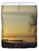 Sundog On The Bay Duvet Cover
