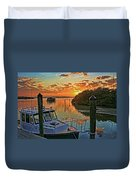 Sundown By H H Photography Of Florida Duvet Cover