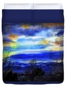 Sundown Overhead-2 Duvet Cover
