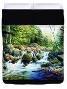 Sunfish Creek Duvet Cover