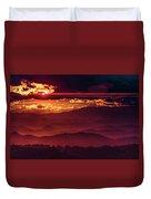 Sunflare Duvet Cover