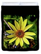 Sunflower Along Etiwanda Falls Trail In San Gabriel Mountains-california  Duvet Cover