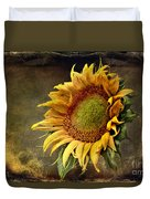 Sunflower Art 2 Duvet Cover