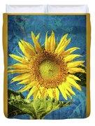Sunflower Art Duvet Cover
